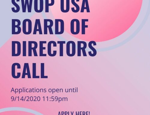 SWOP-USA Is Looking To Expand The Board Of Directors
